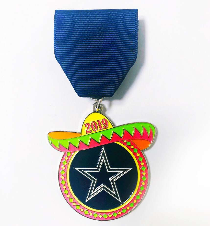 For the first time ever, the Dallas Cowboys will be a part of San Antonio's Fiesta with a team medal.