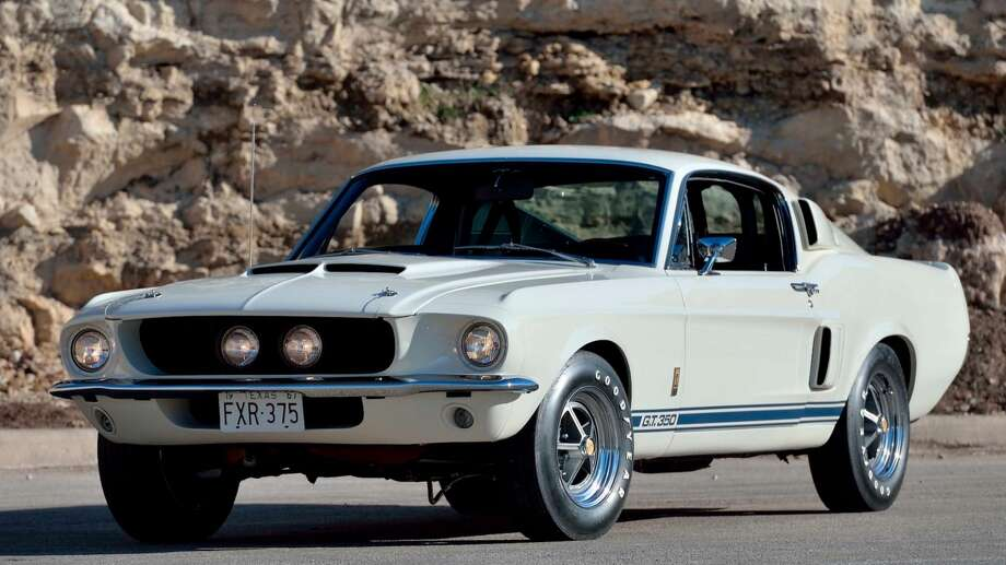 1967 SHELBY GT350 FASTBACK. See more details on the Mecum Auctions website. Photo: Mecum Auctions