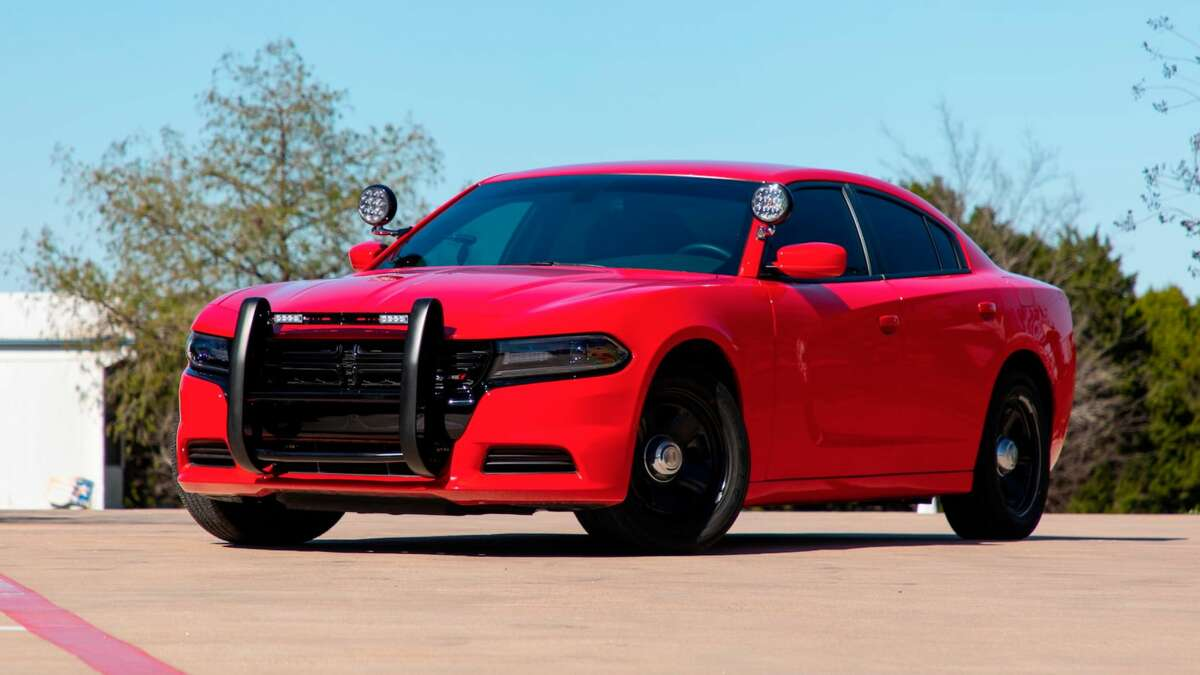 DODGE CHARGER Stopped at State Highway 288, milepost 488 Alleged speed: 114 Posted speed: 65 (Vehicle's year may not match photo)