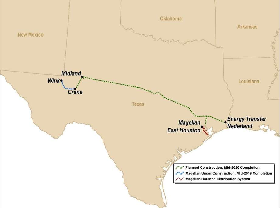 Oklahoma-based Magellan Midstream Partners is scraping plans for its proposed Permian Gulf Coast Pipeline amid ongoing discussions to combine the project with another crude oil pipeline.  NEXT: See major pipeline projects in Texas.  Photo: Magellan Midstream Partners LP