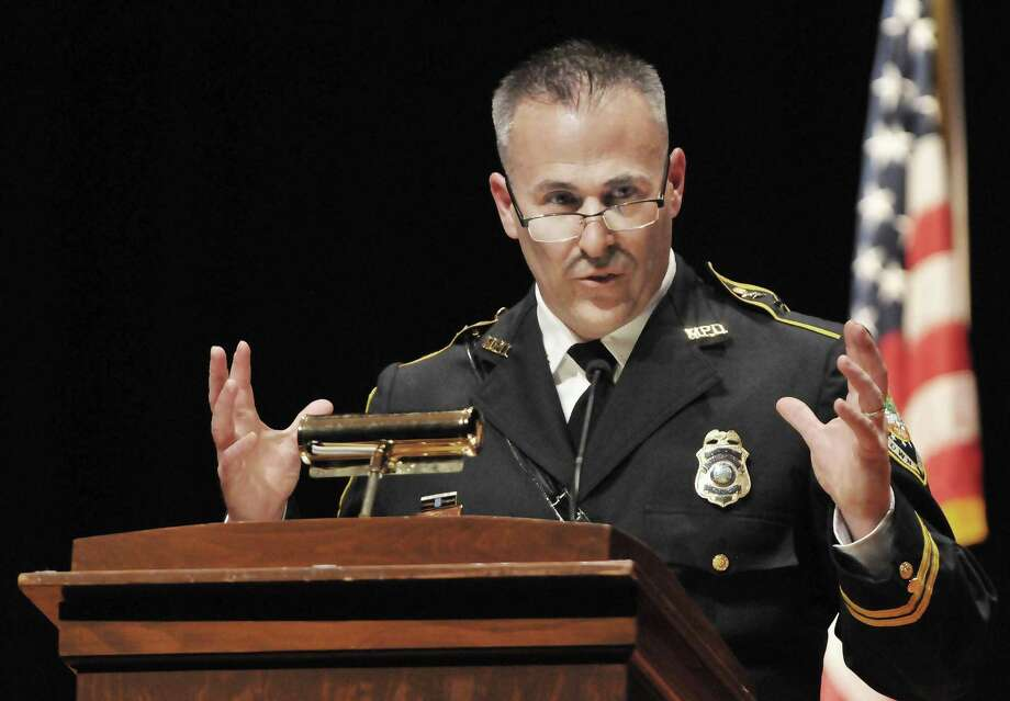 Middletown Police Chief William McKenna Photo: File Photo / TheMiddletownPress