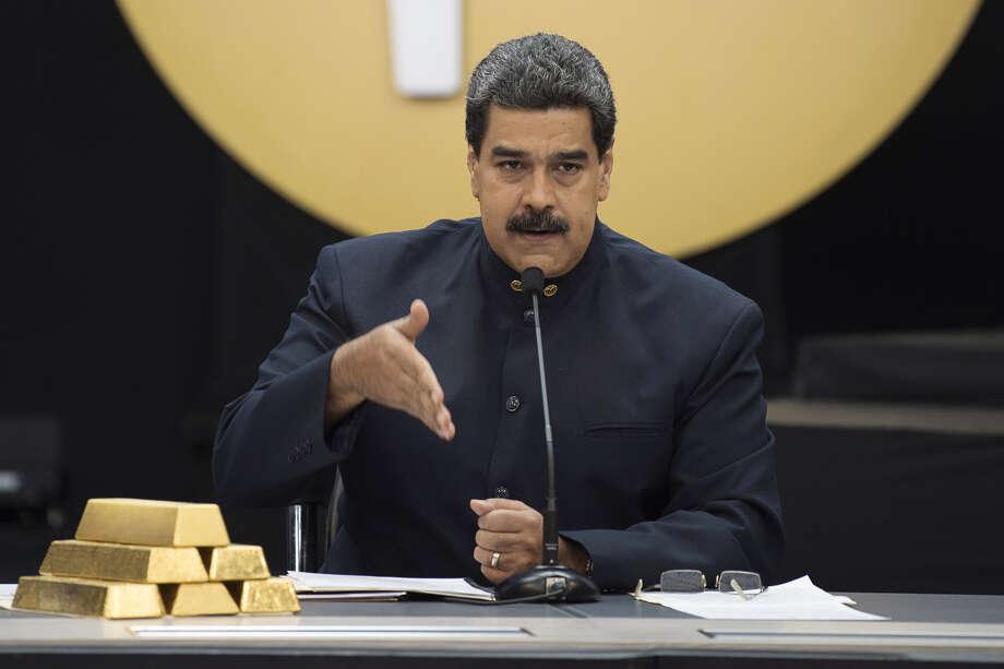 Venezuelan President Nicolas Maduro. Photo: Bloomberg Photo By Carlos Becerra / Bloomberg