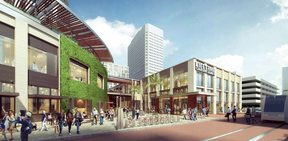 Life Time Work will open a 56,000-square-foot fitness club and more than 38,000 square feet of coworking space at GreenStreet in 2020, following the trend of coworking spaces in Houston.