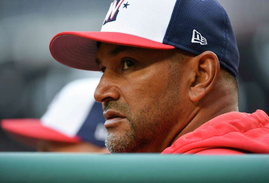 963ba17d5c1 Dave Martinez is entering his second season as manager of the Washington  Nationals. Photo