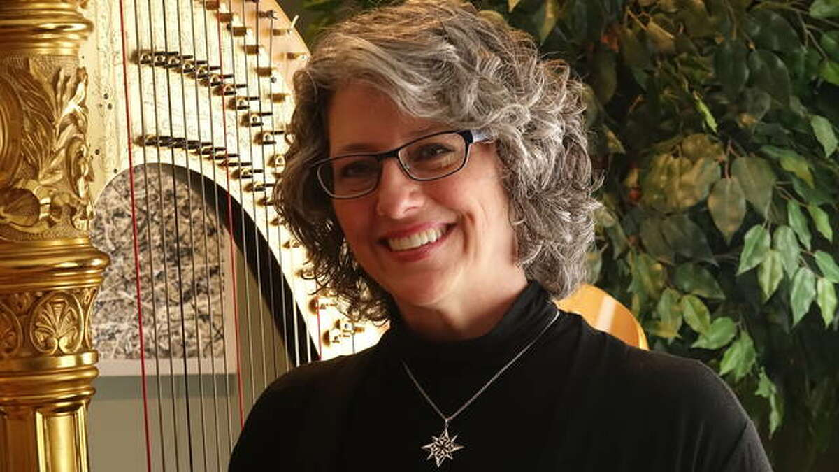 """Amy Camie is also a public speaker and Founder of the Scientific Arts Foundation. Her solo harp CDs, specifically """"The Magic Mirror,"""" have been used in several research studies indicating how her music increases neurological functioning, supports the immune system and reduces pain, distress and anxiety levels, in addition to being beneficial for general relaxation and stress reduction."""