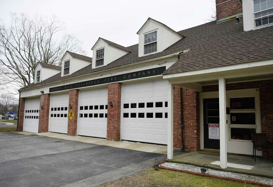 The Round Hill Volunteer Fire Department in Greenwich, Conn., photographed on Monday, March 25, 2019. The ongoing study has left the renovation project in a bit of flux even though the project is ready to proceed to construction permits. Photo: File / Tyler Sizemore / Hearst Connecticut Media / Greenwich Time