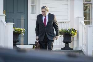 Attorney General William Barr leaves his home in McLean, Va., on Monday morning. His summary of the Mueller report makes complete disclosure of the report imperative.