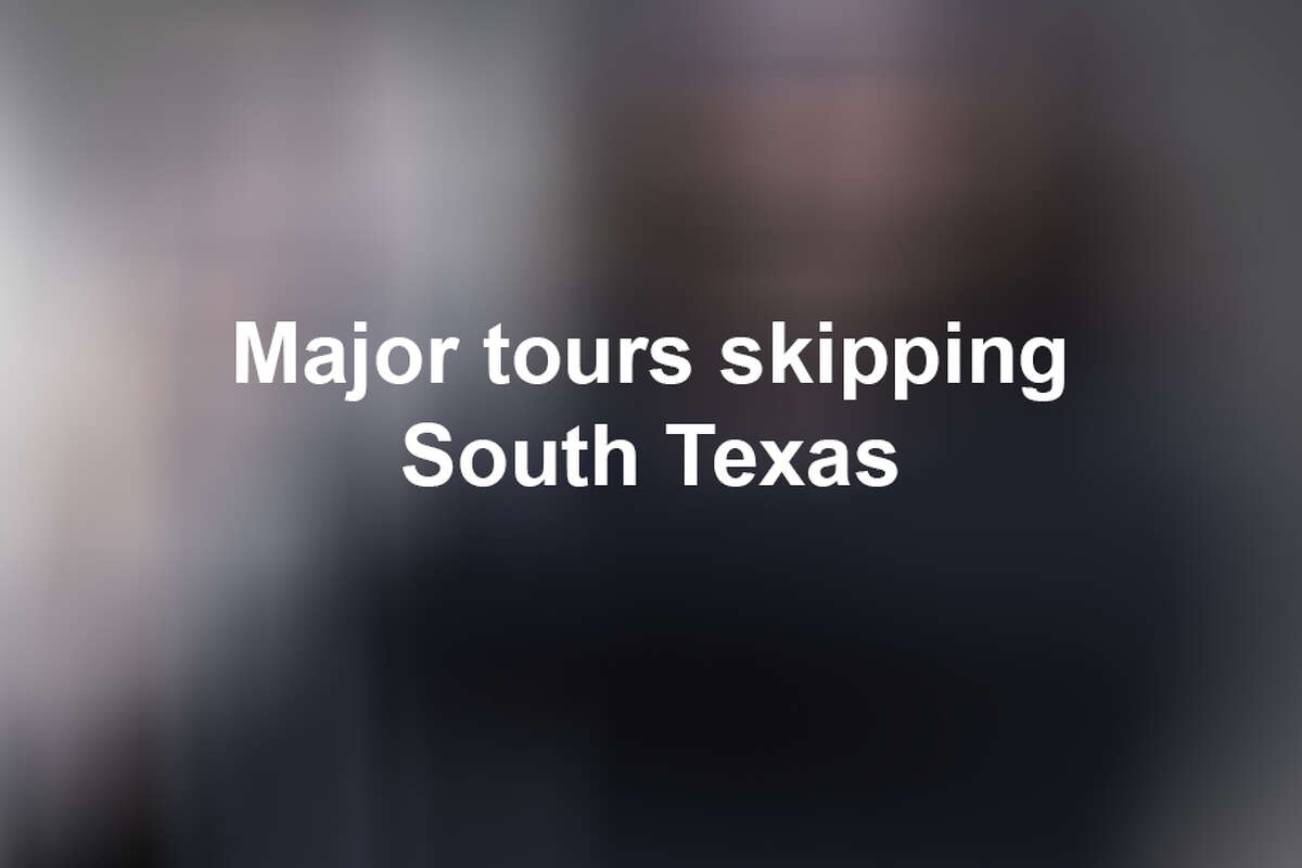 Click ahead to view 2019 tours skipping South Texas.