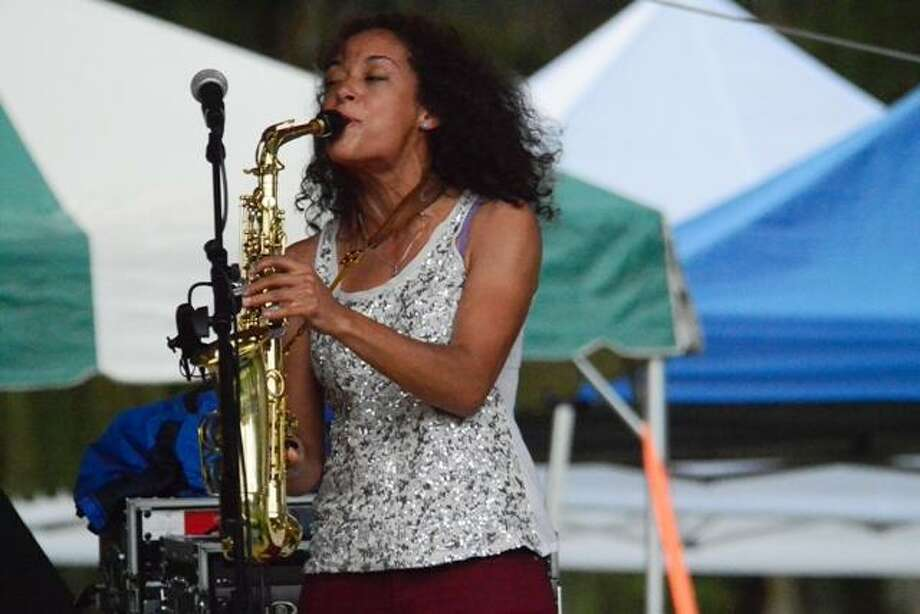 Vanessa Collier brings her saxophone to Bridge Street Live on Friday. Photo: Domenic Forcella / Contributed Photo
