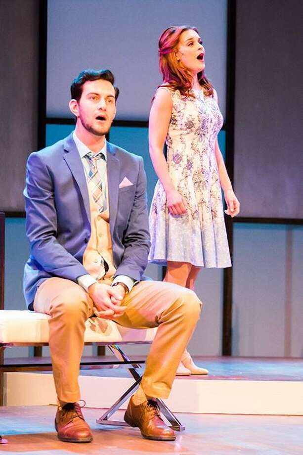 "Andy Christopher and Lauren Gire star in ""Burt and Me"" at the Ivoryton Playhouse. Photo: Contributed Photo"