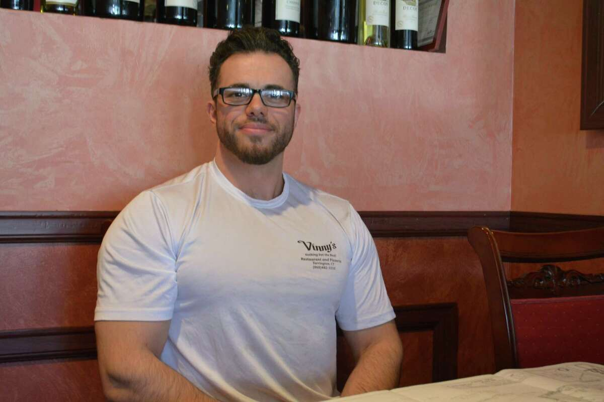 Eduard Seferi, 32, the owner of Vinny's Restaurant, plans to move the business from East Main Street to East Elm Street in mid-August.