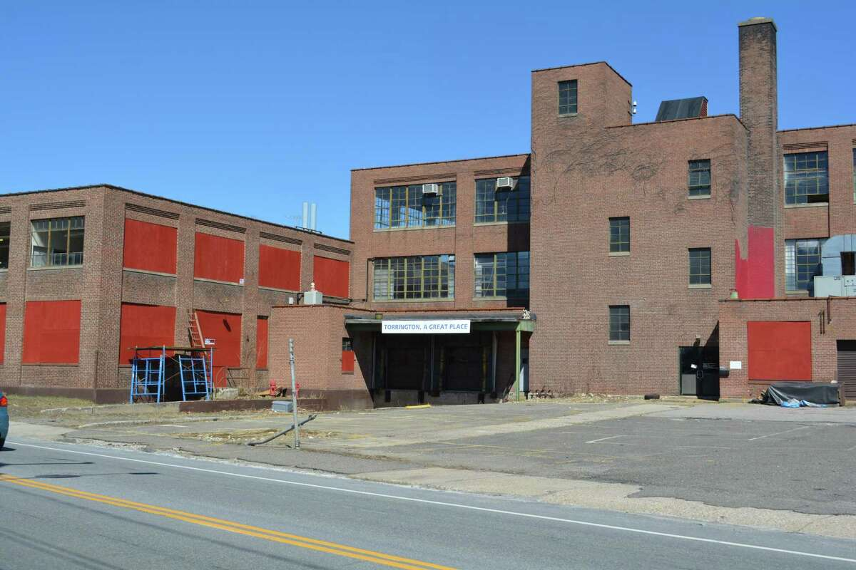 The former factory at 245 East Elm St. was owned by Harold Harlow in 1983. Unoccupied for a number of years, it will now be cleaned up and renovated by Eduard Seferi, the owner of Vinny's Restaurant, which will open in a portion of the building.