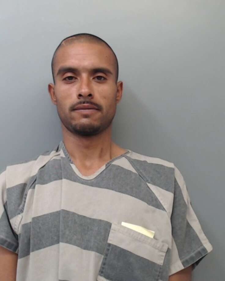 Jesus Mata Jr., 30, was charged with two counts of burglary of a vehicle and two counts of theft of property. Photo: Webb County Sheriff's Office