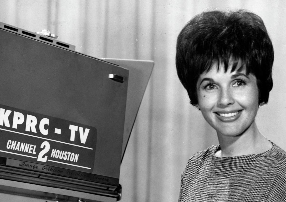 1965 - KPRC-TV personality Ginny Pace