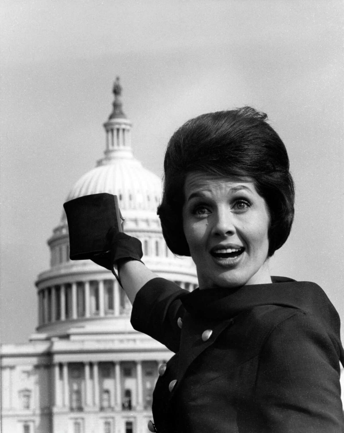 March 1965 - KPRC-TV personality Ginny Pace in Washington DC
