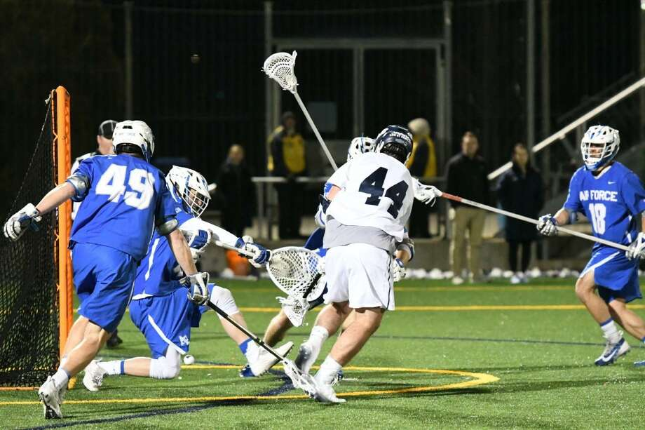 The Yale lacrosse team defeated Air Force Tuesday night. Photo: Yale Athletics / Submitted Photo