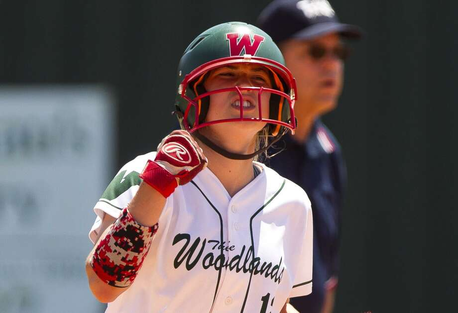 FILE PHOTO -- The Woodlands' Skylar Stockton hit two home runs against Oak Ridge on Tuesday night during a 10-8 victory in District 15-6A play. Photo: Jason Fochtman,  Staff Photographer / Houston Chronicle / © 2018 Houston Chronicle