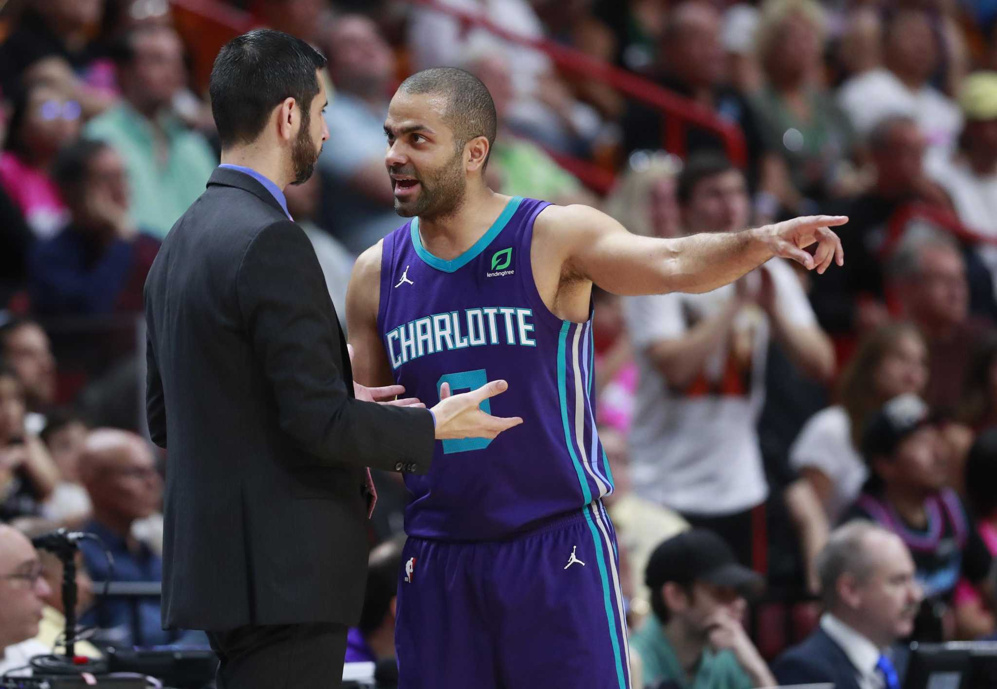 1811432a0a6 Former Spur Tony Parker '50-50' about returning to the NBA next season