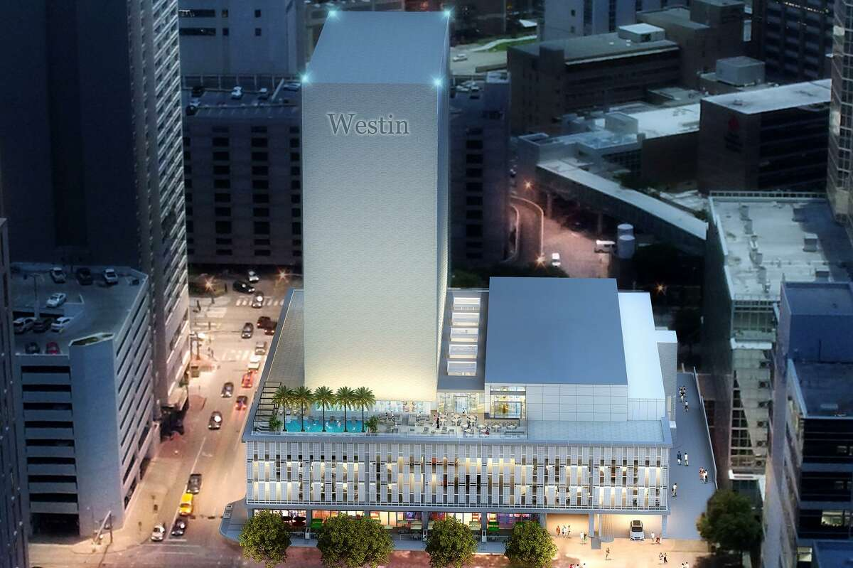 Houston-based Pearl Hospitality is redeveloping the Medical Towers into the Westin Houston Medical Center hotel complex.