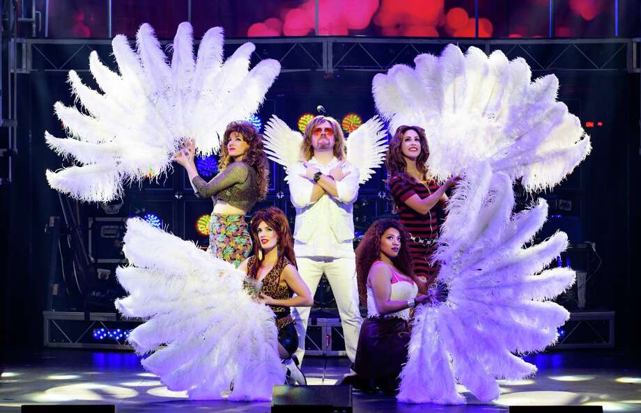"""Ryan M. Hunt, center, and cast members in """"Rock of Ages."""" Photo: Jeremy Daniel / Contributed Photo / Photo: Jeremy Daniel (Instagram @JeremyDanielPhoto)"""