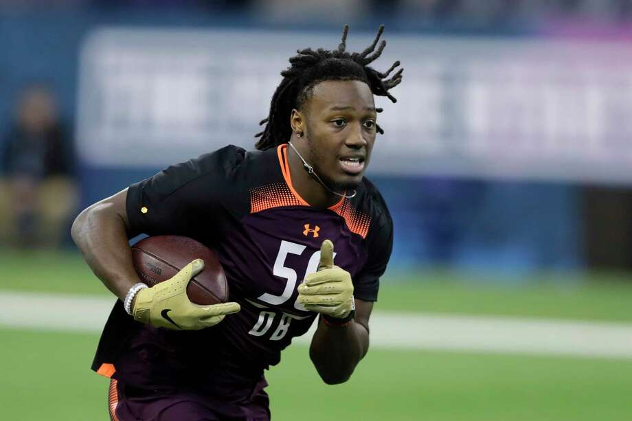 PHOTOS: NFL's best available free agents  Maryland defensive back Darnell Savage Jr. runs a drill during the NFL football scouting combine, Monday, March 4, 2019, in Indianapolis. (AP Photo/Darron Cummings)  >>>See which players remain available during the 2019 offseason ... Photo: Darron Cummings, Associated Press / Copyright 2019 The Associated Press. All rights reserved