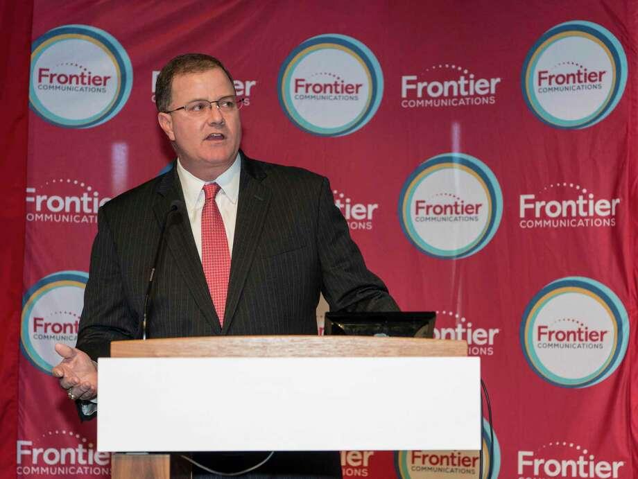 Frontier Communications CEO Dan McCarthy in October 2016 in Fairfield, Conn. Photo: Mark Conrad / For Hearst Connecticut Media / ©Mark F Conrad