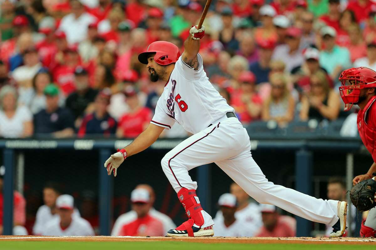 Anthony Rendon, 3B, Nationals Lamar High School Rendon is entering his seventh big league season and is a premier third baseman who will cash in when he hits free agency after the 2019 season.