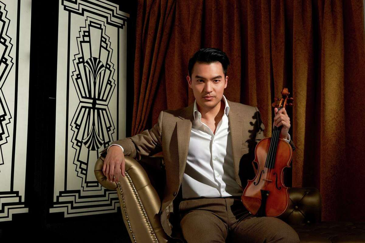 Society for the Performing Arts will present violinist Ray Chen Nov. 9 at the Wortham Theater Center.