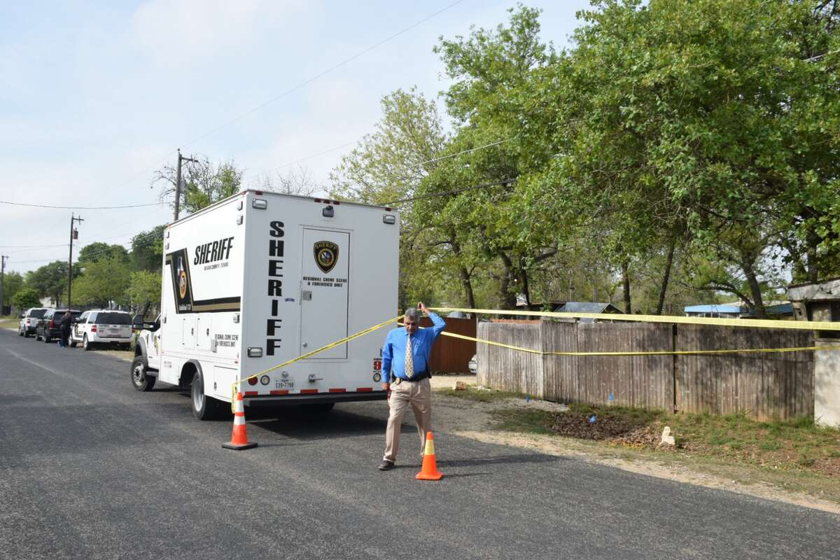 A 27-year-old man was arrested early Wednesday after he allegedly stabbed his 40-year-old girlfriend to death in a shed in a rural area of south Bexar County, deputies said.