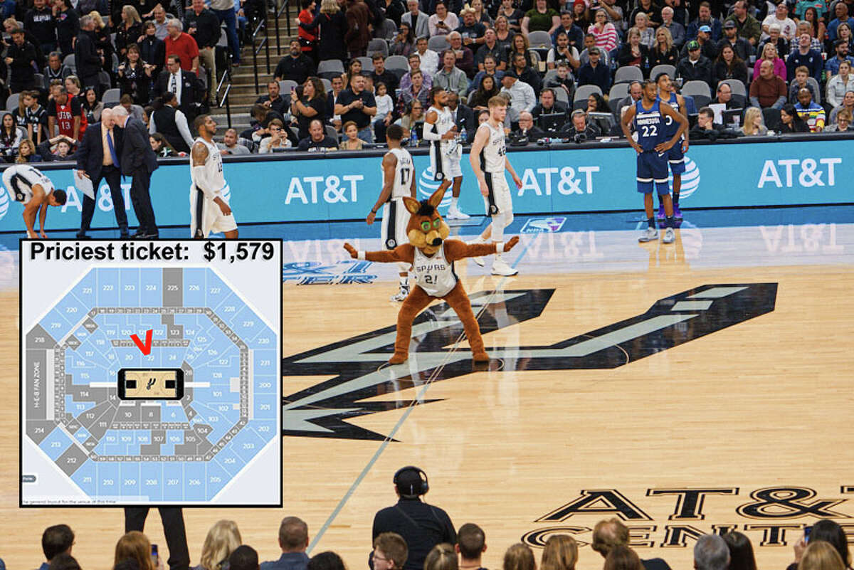 Click ahead to view ticket prices for the Manu Ginobili jersey retirement. Sect. 22 Most expensive: $1,579 (resale) Least expensive: $711 (resale)