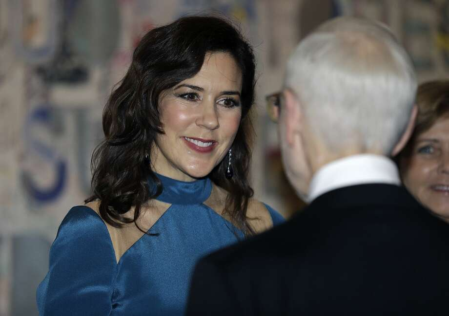 HRH Mary, Crown Princess of Denmark arrives for a Gala Dinner at the Museum of Fine Arts on March 12, 2019 in Houston, Texas. Photo: Bob Levey/Getty Images