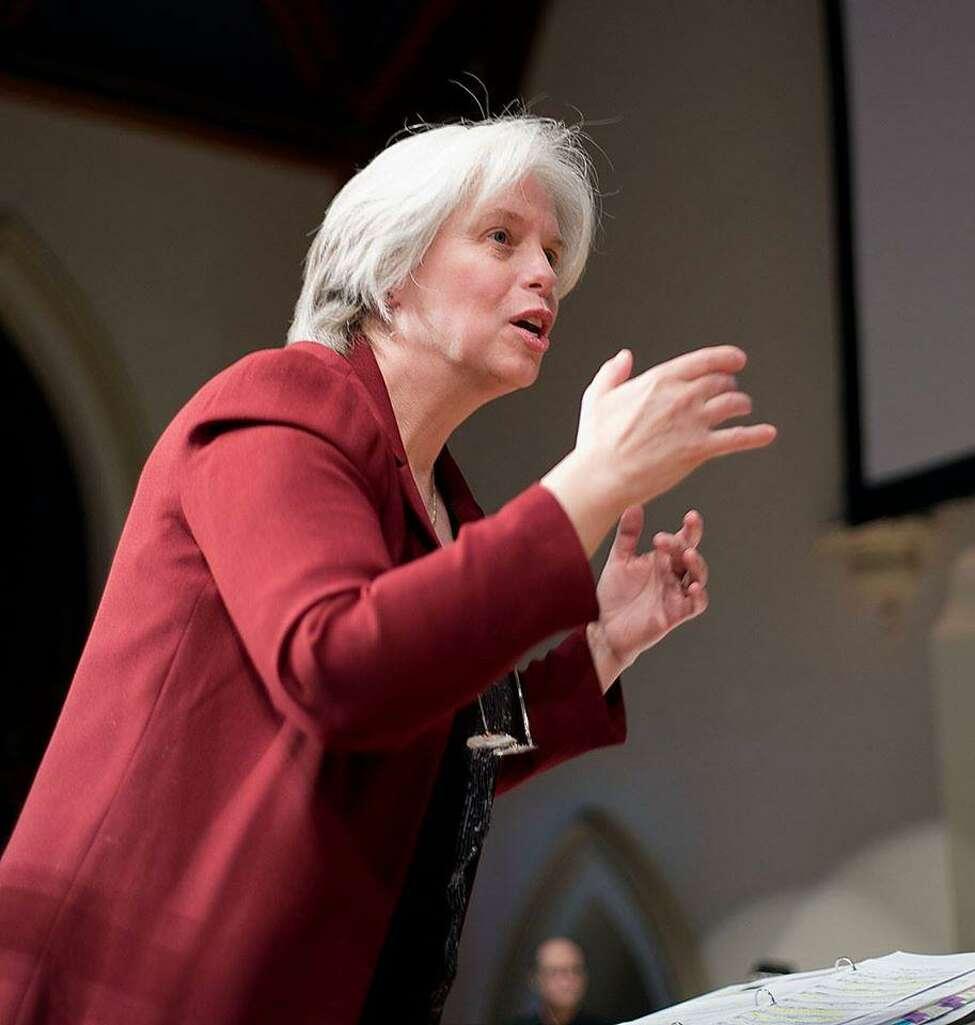 Crescendo Artistic Director Christine Gevert (credit: Stephen Potter)