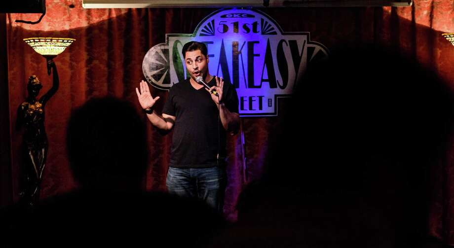 Schenectady-born comedian and comedy promoter booked the comedians who will perform during Chuckles for Knuckles, a benefit show to raise money for self-defense classes for women. (Provided photo.) Photo: Trace Thomas / trace-thomas.com