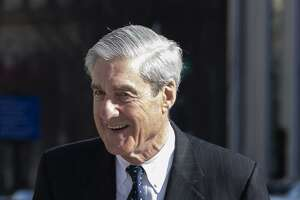 Special CounselRobert Mueller walks after attending church on March 24, 2019 in Washington, D.C. Mueller has delivered his report on alleged Russian meddling in the 2016 presidential election to Attorney General William Barr. (Tasos Katopodis/Getty Images/TNS) **FOR USE WITH THIS STORY ONLY**