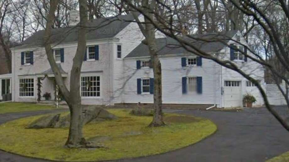 23 Laurel Lane in Greenwich sold for $1.9 million. Photo: Google Street View