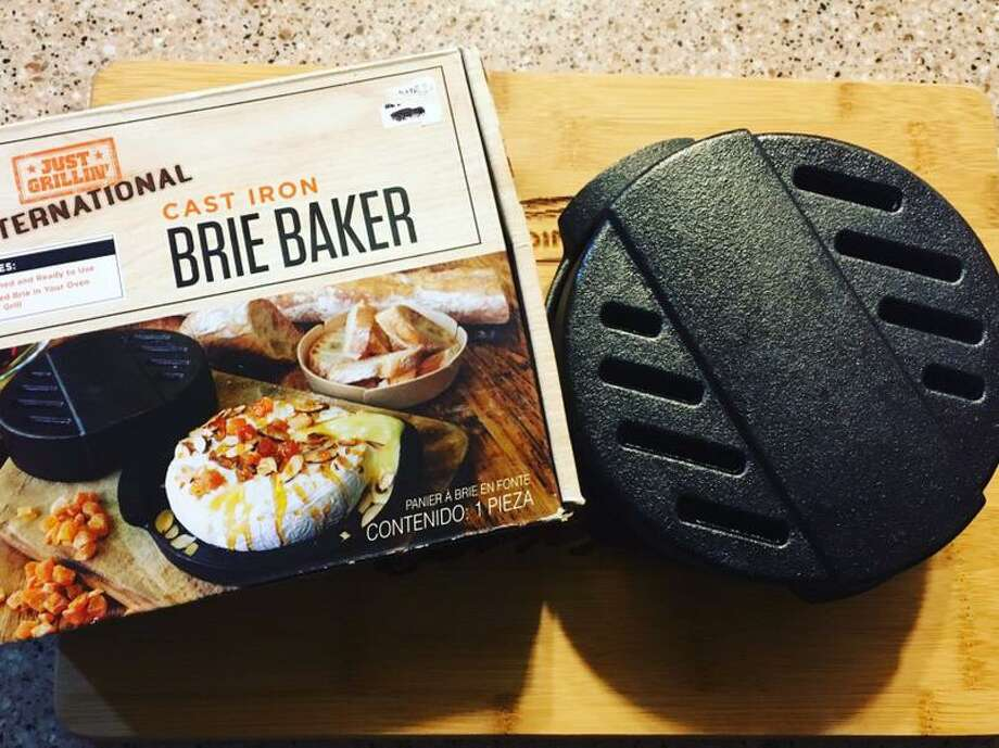 The cast iron brie baker is available for $16.99 at Bed, Bath & Beyond and is designed for cheeses like brie and Camembert. Photo: Chuck Blount /Staff