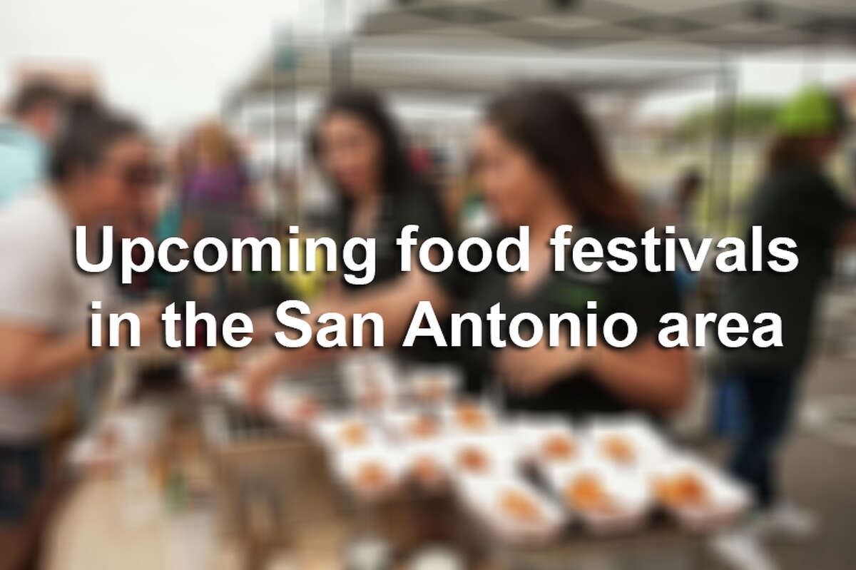 From beer to tacos to doughnuts, the San Antonio area has food festivals aplenty.
