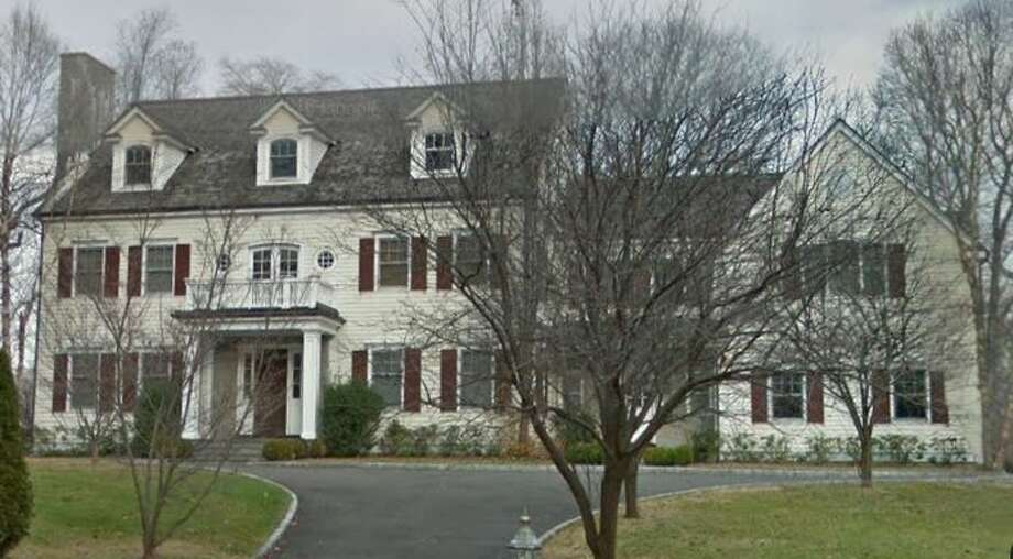 215 Spring Water Lane in New Canaan sold for $1,600,000. Photo: Google Street View