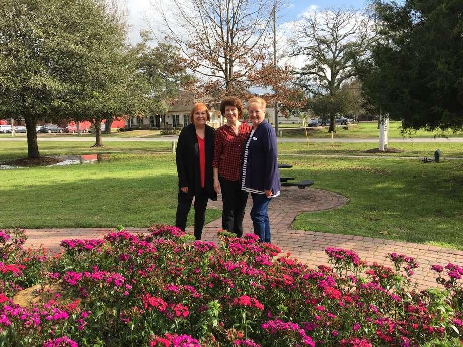 Helping to bring new life to the Katy Heritage Society are, from left, Marilyn Frishman, Pam Beckendorff and RosanneStockdick Lopez. Photo: Karen Zurawski