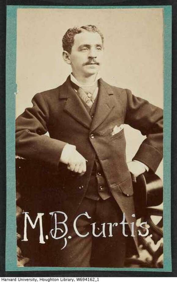 Actor M.B. Curtis Photo: Harvard University, Houghton Library