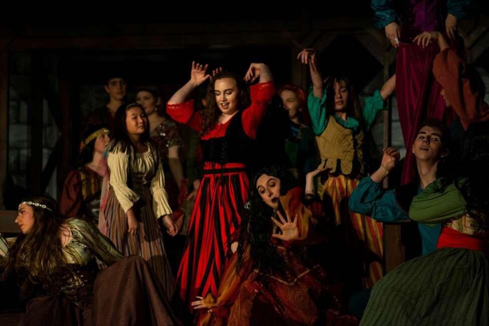 Performances of Hudson Falls High School's