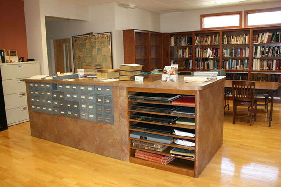 Interior of the Madison County Archival Library.
