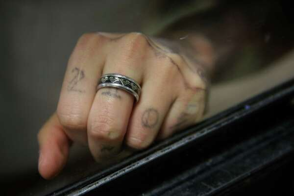 Gonzales added the ink drawing of King Jay to his left hand, on which he wears a ring given to him by his two other sons.