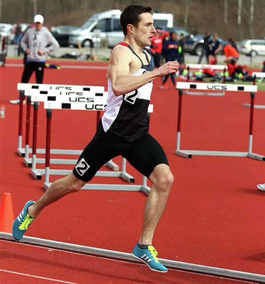 SIUE's Matt O'Connor is the Ohio Valley Conference Male Track Athlete of the Week. Photo: SIUE Athletics