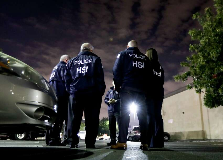 WHAT HAVE THEY DONE? Last fiscal year, ICE's Enforcement and Removal Operations unit arrested more than 158,500 immigrants in the country illegally, an 11% increase over the prior year and the highest number since 2014. The agency says 66% of those arrested were convicted criminals.