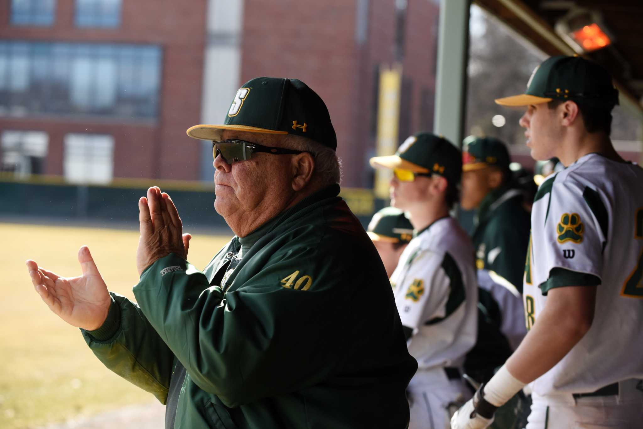 a3d244659059 Siena baseball coach makes his 50th home opener - Times Union