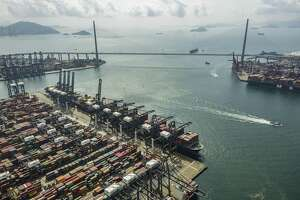 The Kwai Tsing Container Terminals in Hong Kong, Feb. 7. Chinese exports to the U.S. have been hurt in an ongoing trade war. A reader explains how the trade wars are weakening the global economy.