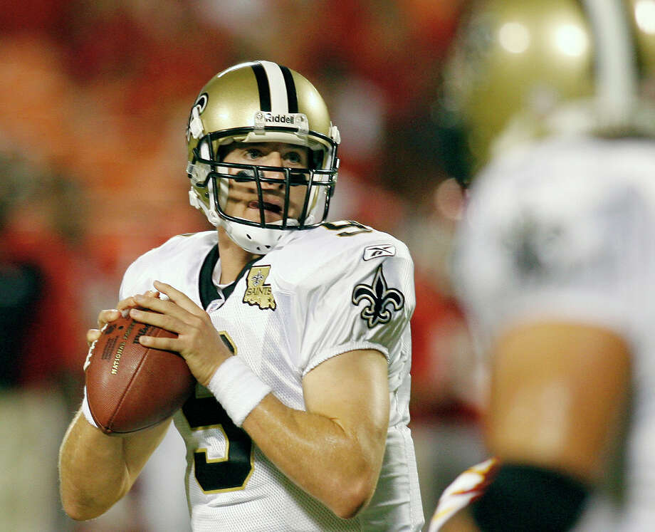 New Orleans Saints quarterback Drew Brees is to be the keynote speaker for a Teen FLOW Ministry fundraiser planned for May 9. Photo: AP File Photo / AP2006