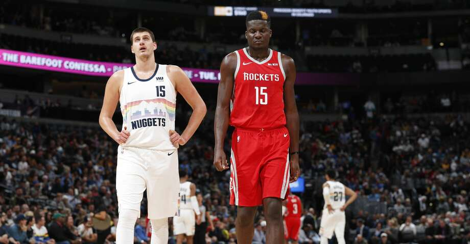 PHOTOS: Rockets game-by-game Denver Nuggets center Nikola Jokic (15) and Houston Rockets center Clint Capela (15) in the first half of an NBA basketball game Tuesday, Nov. 13, 2018, in Denver. (AP Photo/David Zalubowski) Browse through the photos to see how the Rockets have fared in each game this season. Photo: David Zalubowski/Associated Press
