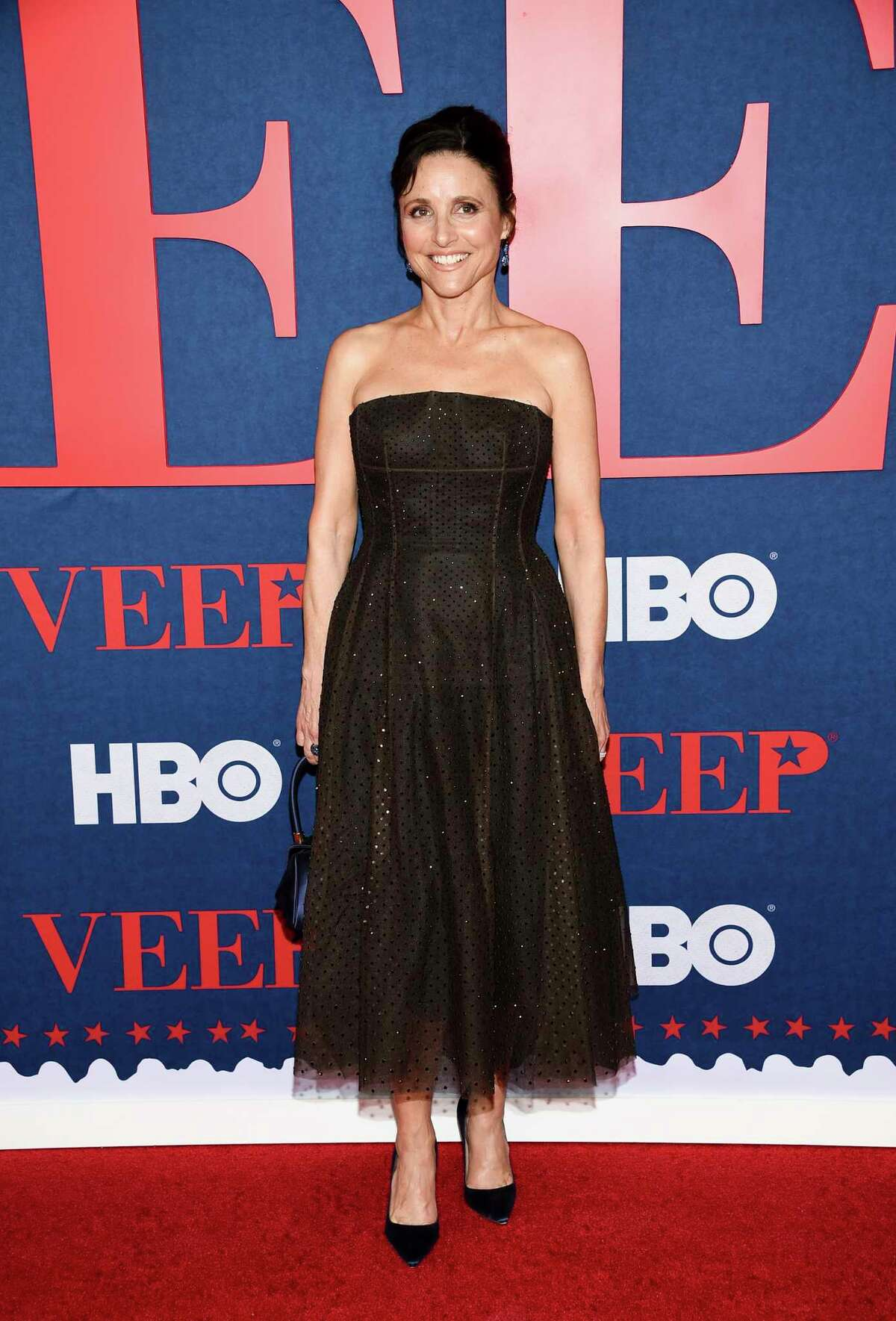 Actress and executive producer Julia Louis-Dreyfus attends the premiere of the final season of HBO's